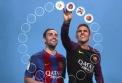 Barça ve světě emotikon aneb jak vidí své spoluhráče Paco Alcácer a Jordi Masip